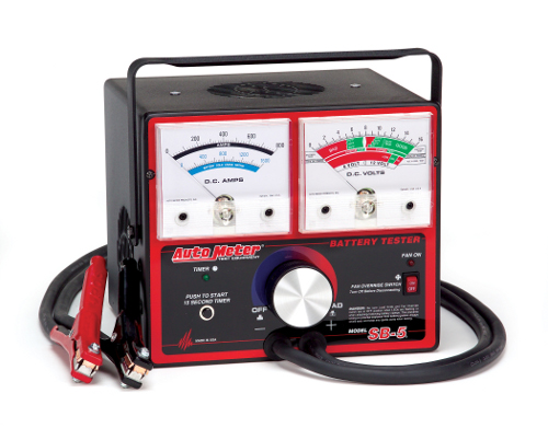 Auto Meter Battery Testers : Staab battery co auto meter sb amp tester