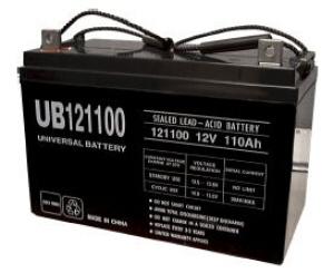 staab battery co ub121100 31 universal 12v 110 ah flag. Black Bedroom Furniture Sets. Home Design Ideas