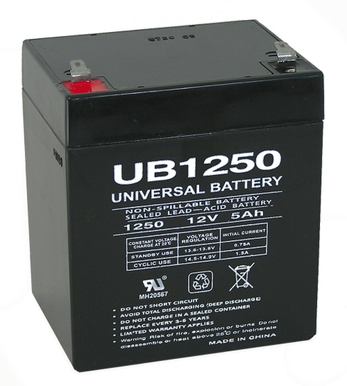Universal battery ub1250