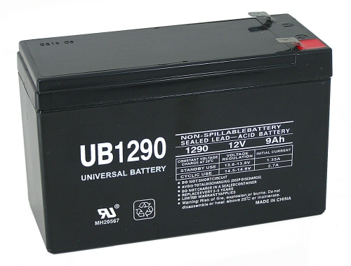 Staab Battery Co Dep9125 1250 Deltec Exide Powerware Ups